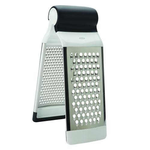 Oxo Good Grips Cheese Grater Standing Two-sided Folding Multigrater