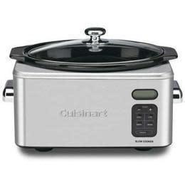 Cuisinart Electric Slow Cooker 6.5qt Programmable