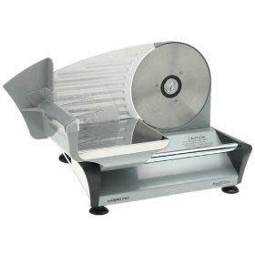 Cuisinart Electric Food Slicer Coated Steel