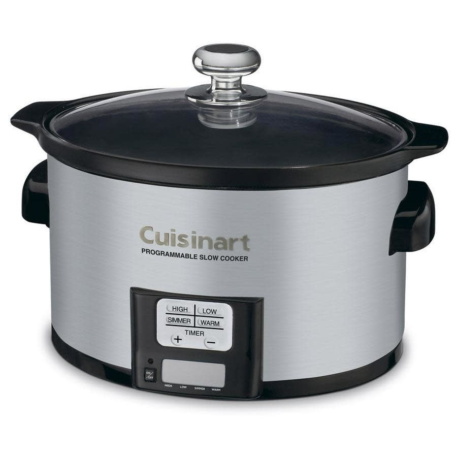 Cuisinart Electric Slow Cooker 3.5qt Programmable--on/off keep warm, simmer ,low and hi settings