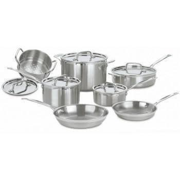 Cuisinart Cookware - Multi-Clad Pro Stainless, 12 Piece Set