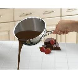 Cuisinart Cookware Chefs Classic Stainless Saucepan 1qt Pour
