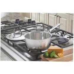 Cuisinart Cookware - Chefs Classic Stainless Steel, Saucepan w/Lid 1.5qt