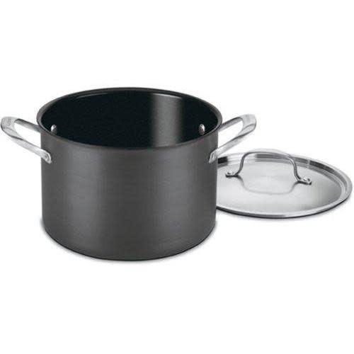 Cuisinart Cookware Green Gourmet Nonstick Stockpot 8qt W/ Cover