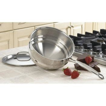Cuisinart Cookware Chefs Classic Stainless Double Boiler With Lid