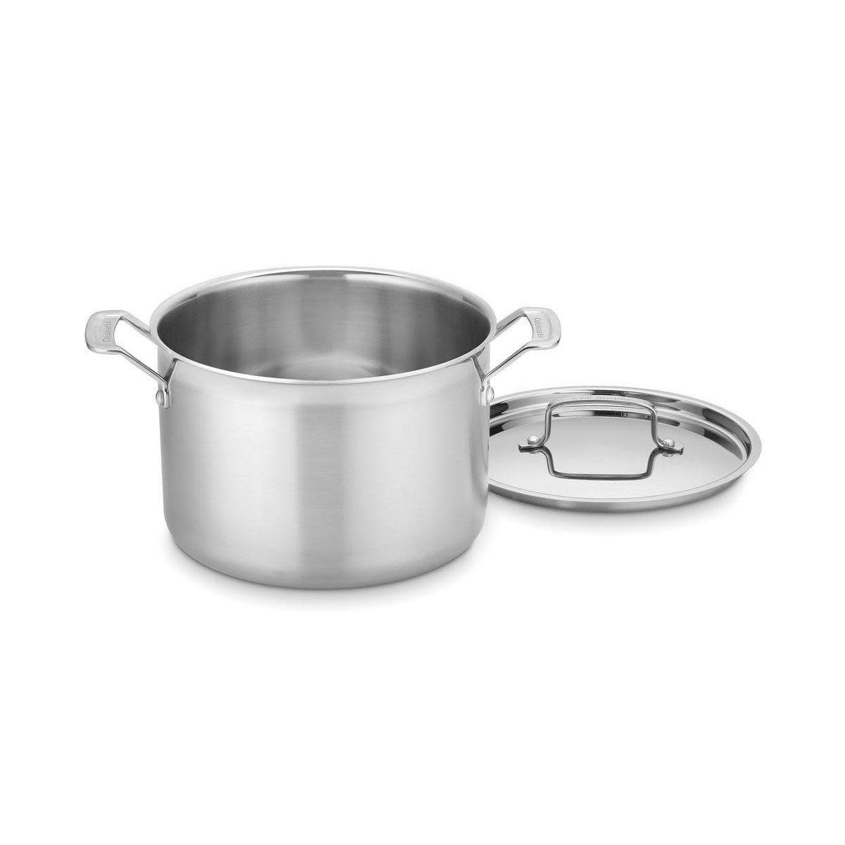 Cuisinart Cookware Multi-clad Pro Stainless Stockpot 8qt W/ Cover