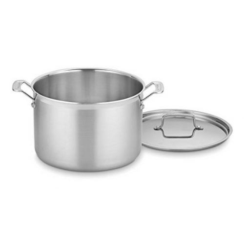 Cuisinart Cookware Multi-clad Stainless Stockpot 12qt W/cover