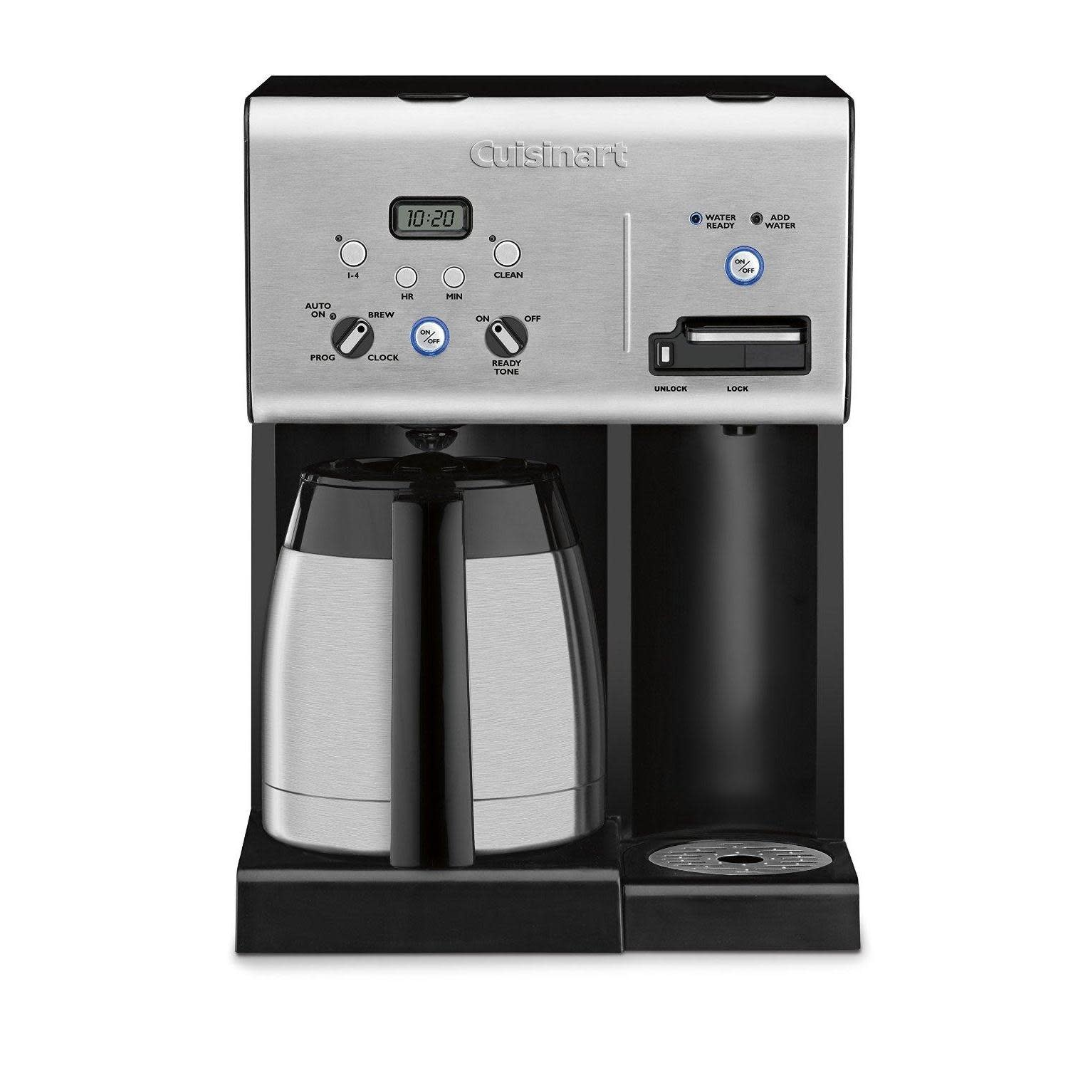 Cuisinart Electric Coffee Maker With Hot Water on demand Carafe-thermal 10cup -56oz H2o reservoir