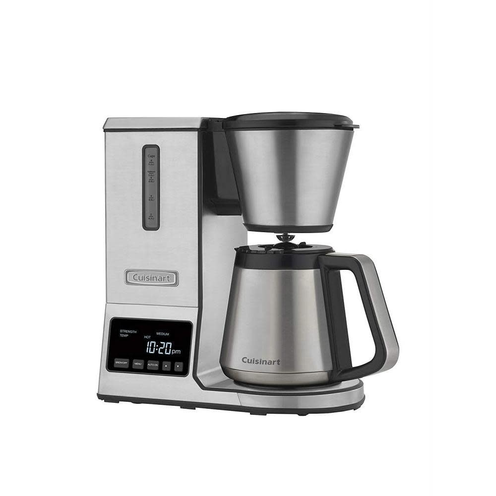 Cuisinart Electric Pour- Over Coffee Brewer Ws/s Carafe 8 Cup