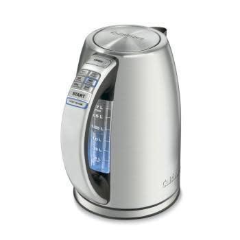 Cuisinart Electric Tea Kettle Water Boiler Perfect Temp Cordless  1.79qrt.  1500watts