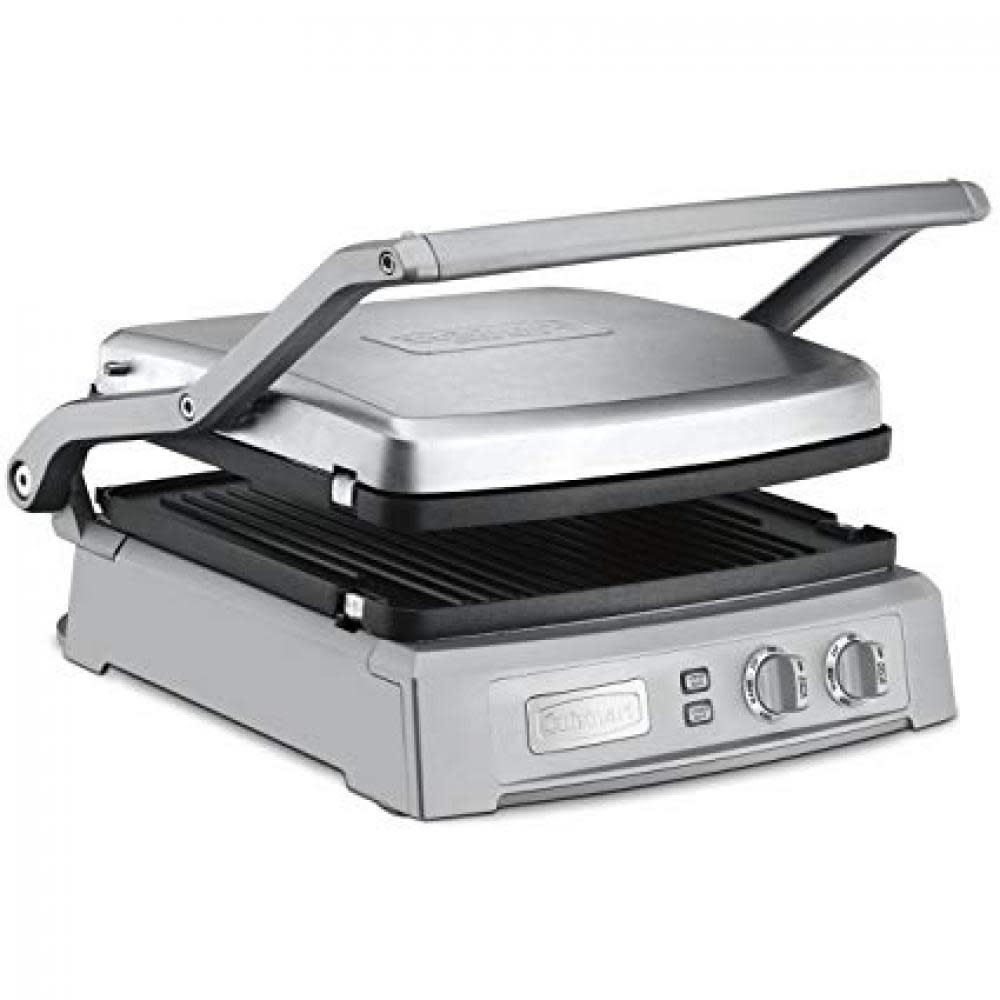 Cuisinart Electric Griddler Deluxe Removable Reversable Grill And Griddle Plates