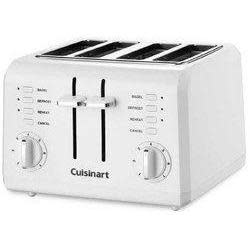 Cuisinart Electric Toaster Compact White 4--1.5in.Slots