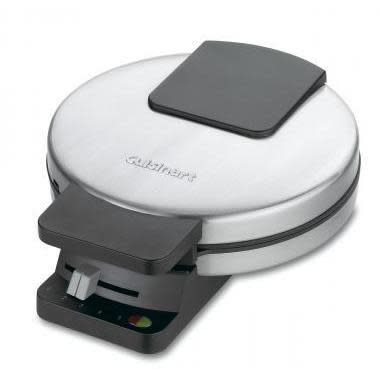 Cuisinart Electric Waffle Maker Round Classic w/nonstick plates
