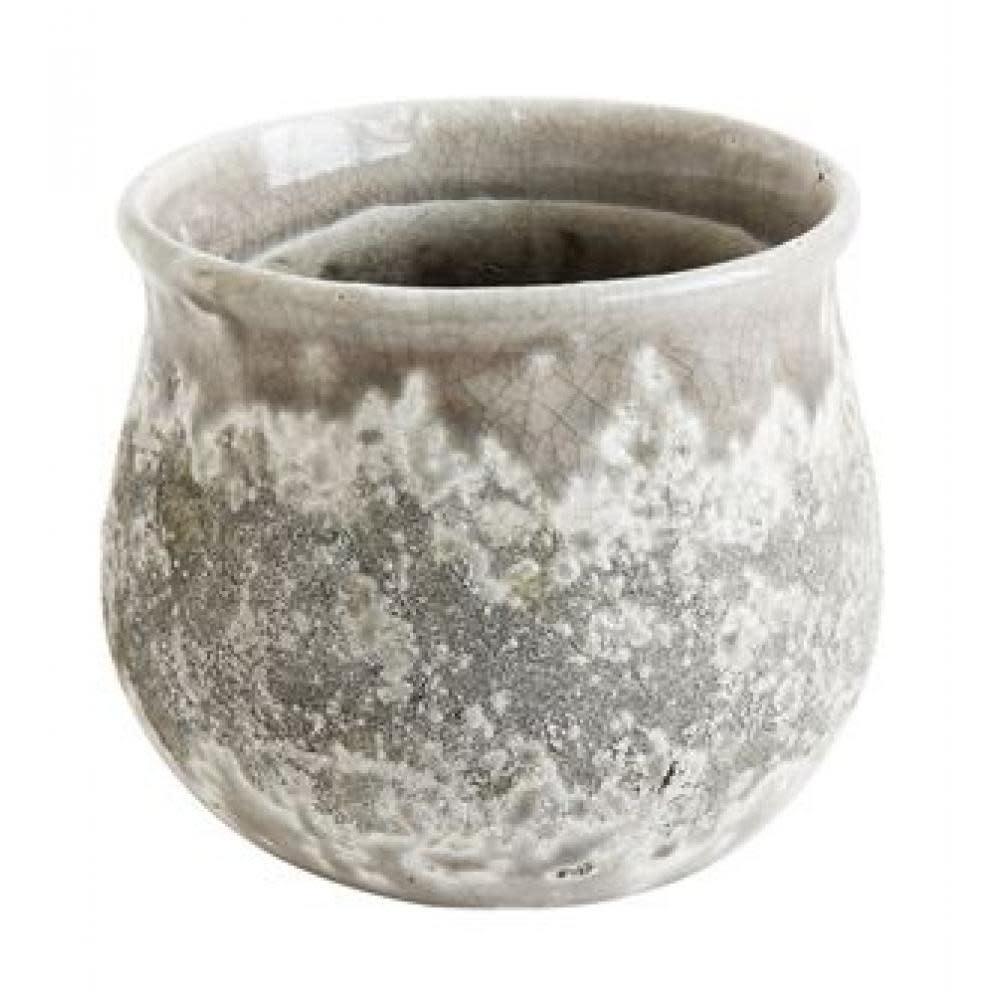 Creative Co-Op Planter - Terracotta Distressed Grey