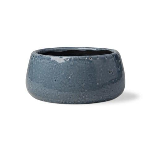 Tag Medium Garden Pot - Blue Denim