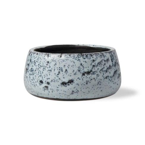 Tag Medium Garden Pot - Blue Multi