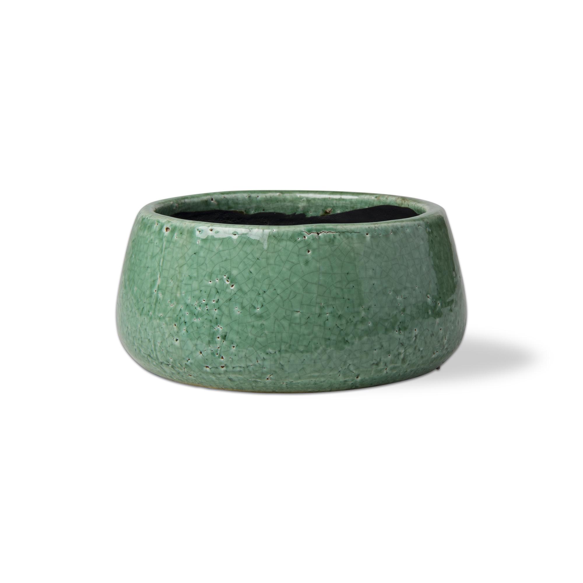 Tag Medium Garden Pot - Jade
