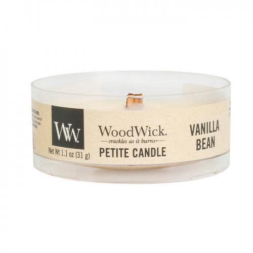 Woodwick Woodwick - Petite Candle 1.1oz - Vanilla Bean