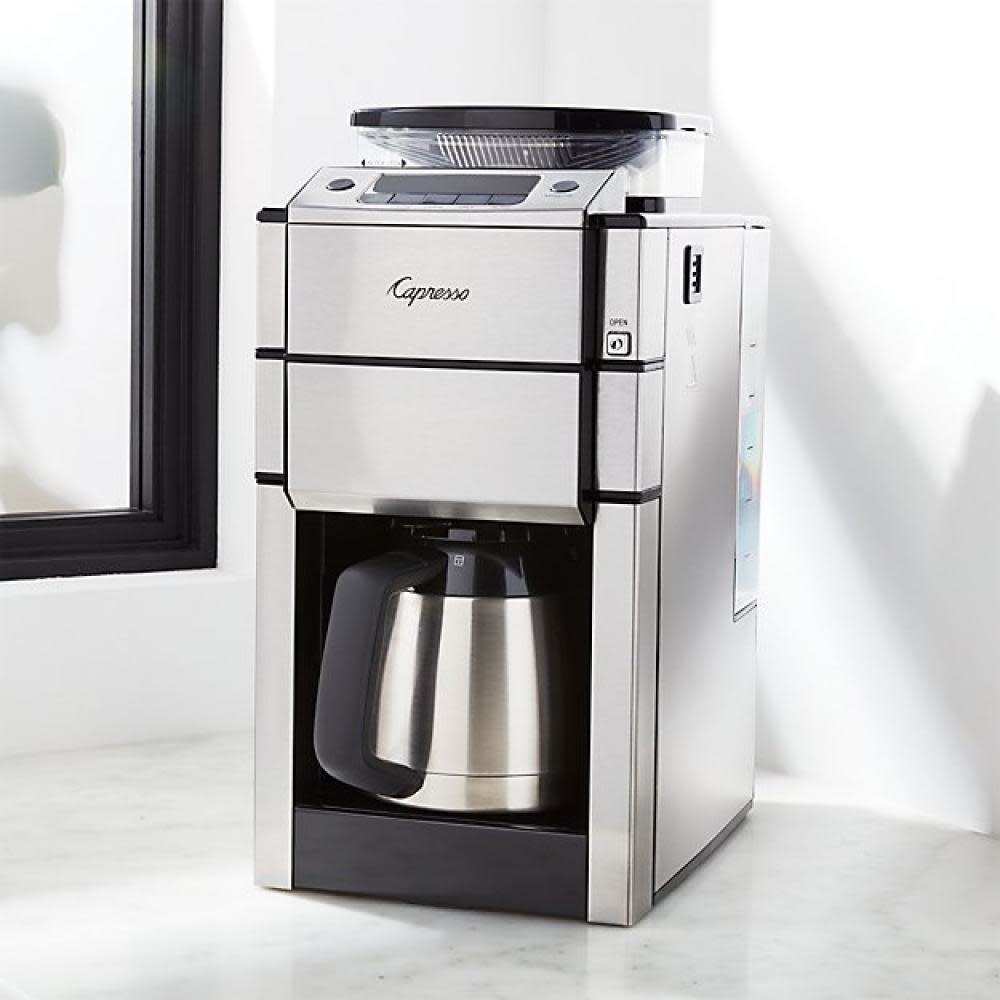 Capresso Electric Coffee Maker - Coffeeteam Plus 10cup Grind & Brew w/Thermal Carafe