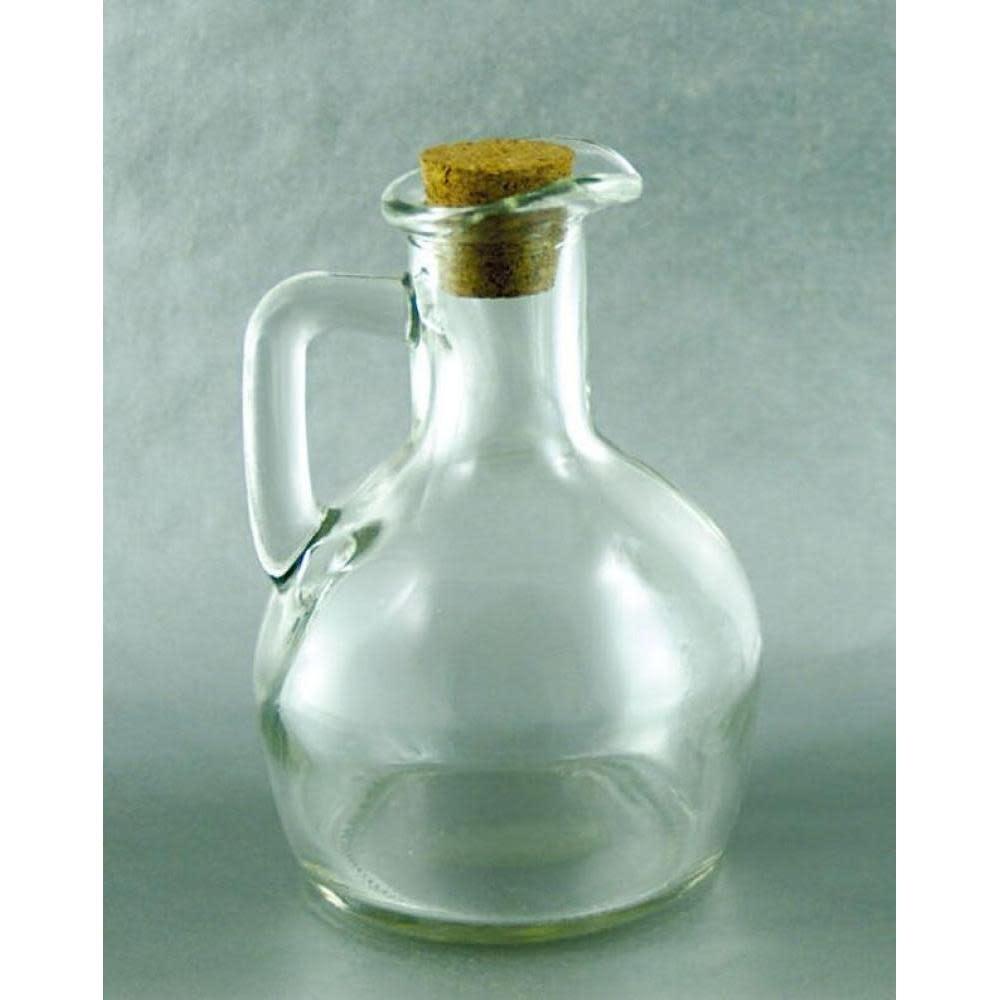GHA Oil Cruet Pot Belly Cork Top