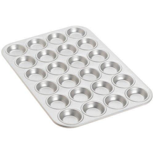 Fat Daddio's Bakeware Muffin Pan - Mini - 24 Cavity