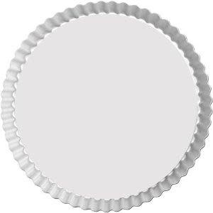 Fat Daddio's Bakeware Tart Pan - Round -  Fluted - 11 X 1 In