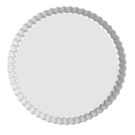 Fat Daddio's Bakeware Tart Pan - Round - Fluted - 9.5 X 1 In.