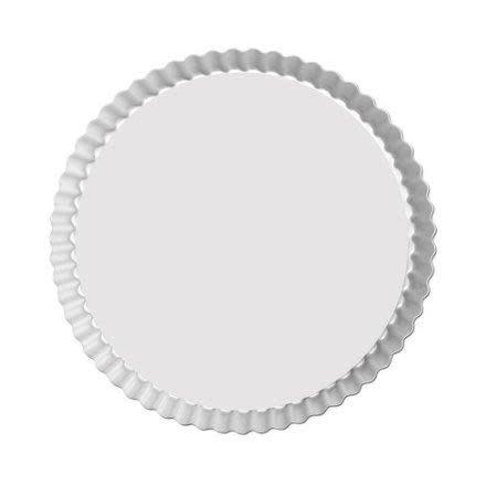 Fat Daddio's Bakeware Tart Pan - Round - Fluted - 8 X 1 In