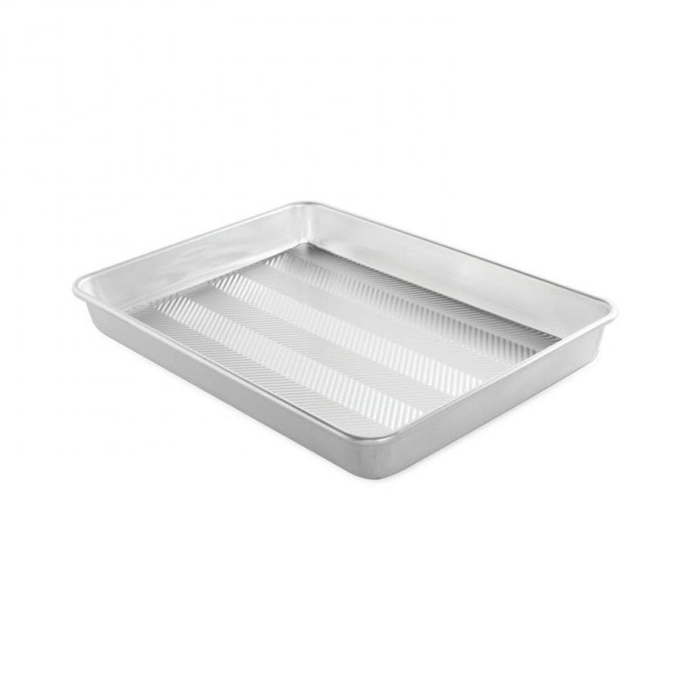 Nordic Ware Naturals Prism Textured High Sided Sheet Baking Pan 12 x 17in