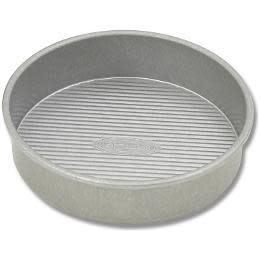 USA Pan Round Cake Pan 8in Dia x 2in deep