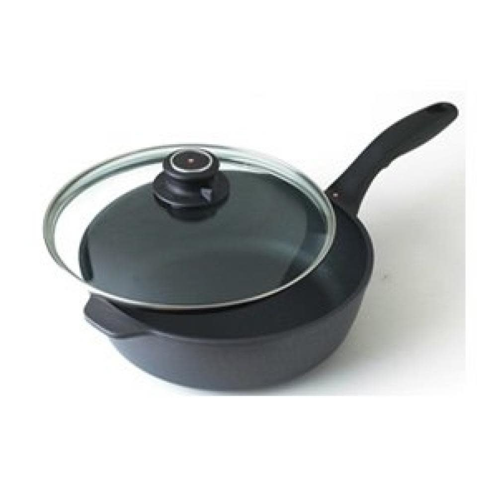 Swiss Diamond Cookware Saute Pan 9.5in 3.2qt With Lid