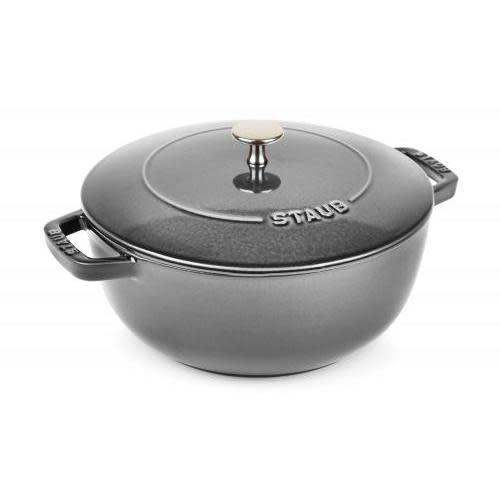 Staub Cookware - Staub Cocotte French Oven 3.75qt, Grey Graphite