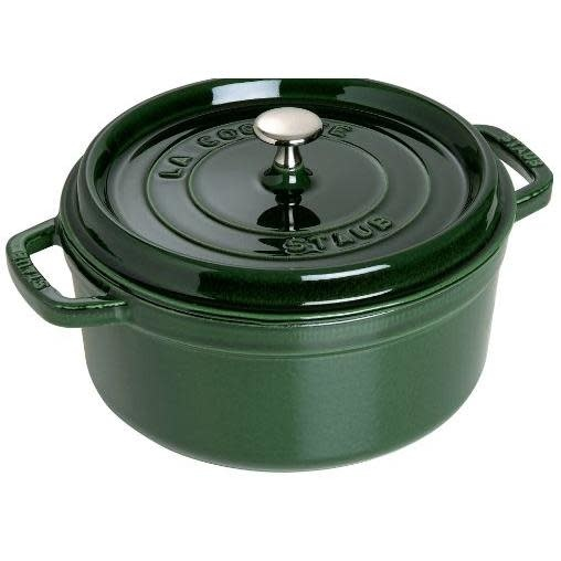 Staub Cookware - Staub Cocotte 7qt, Green Basil