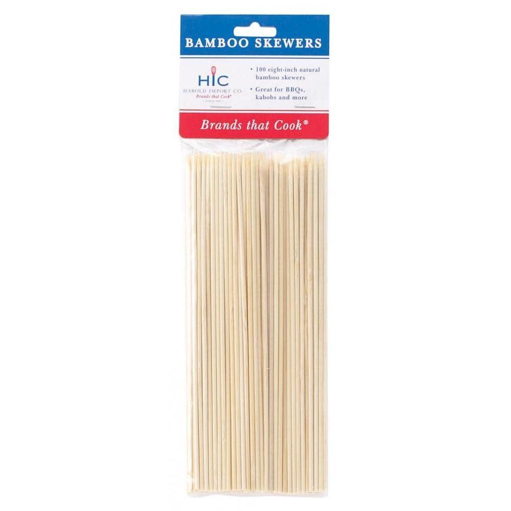 Harold Imports Co. Wood Skewers Medium 8in