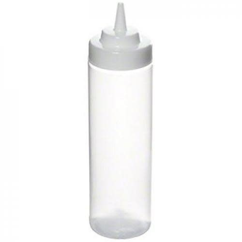 Table Craft Squeeze Bottle Dispenser Clear Large 24oz