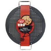 Table Craft Grilling Non-stick Perforated Pan Pizza Grill 18x15x1