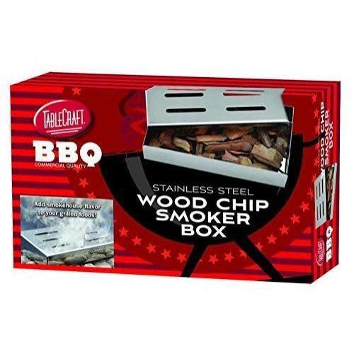 Table Craft Grilling Woodchip Smoker Box