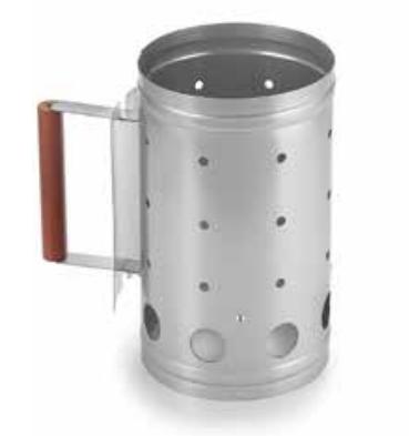 Fox Run Brands Chimney Grill Starter (5 lb capacity)