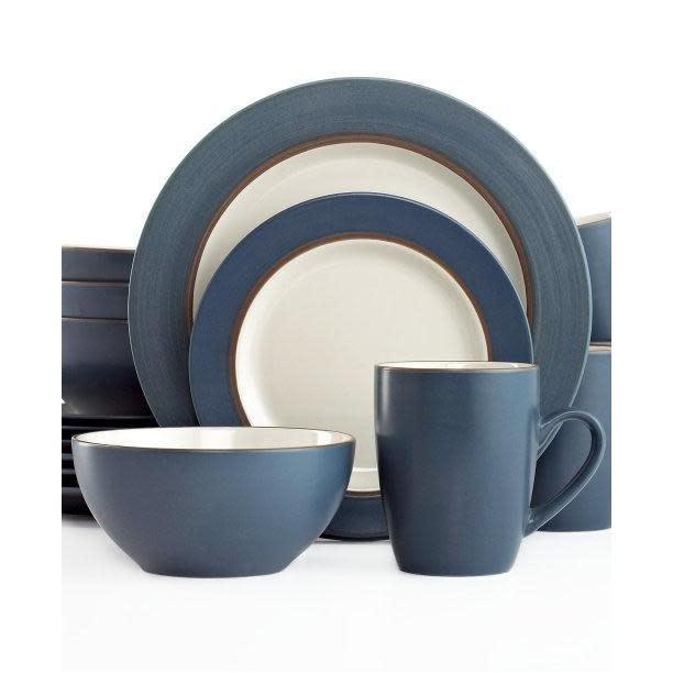 Thompson Pottery Dinnerware Set - Kensington Stone 16 Piece Set