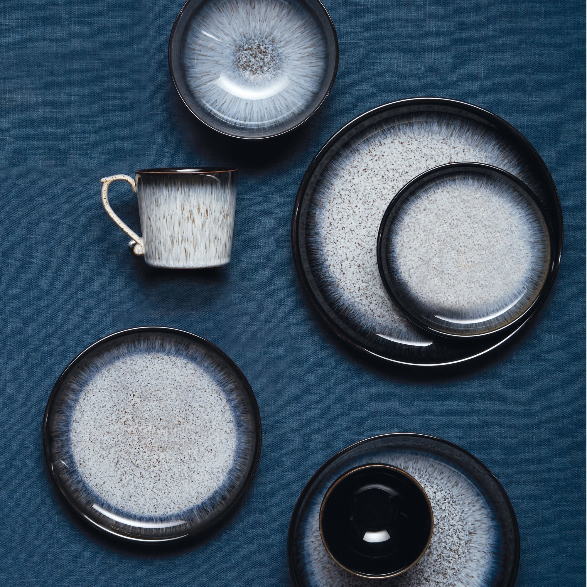 Denby Halo Alt Small Coupe Plate