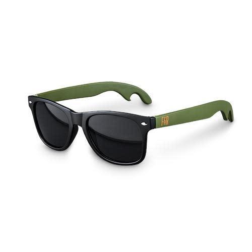 Foster & Rye Bottle Opener - Beer Bottle Cap Opener Sunglasses, Green