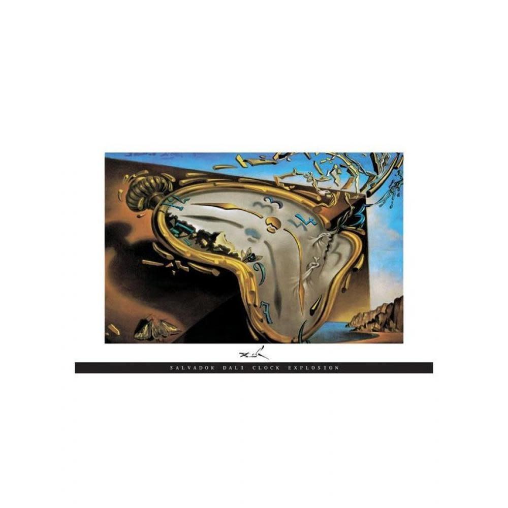 Pyramid America Poster - 24in x 36in Dali: Clock Explosion
