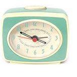 Kikkerland Classic Alarm Clock Mint