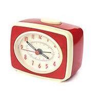 Kikkerland Classic Alram Clock Red