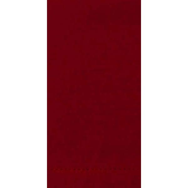 Dunroven House Cloth Napkin - Hemstitch, Red-Cranberry