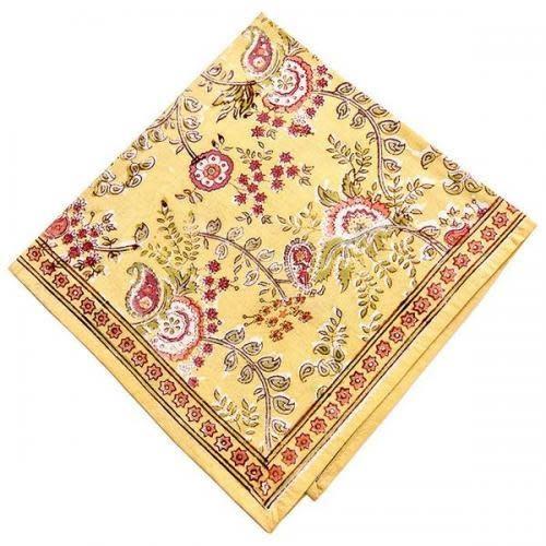 CLM Style Cloth Napkin - Juliette Yellow Napkin