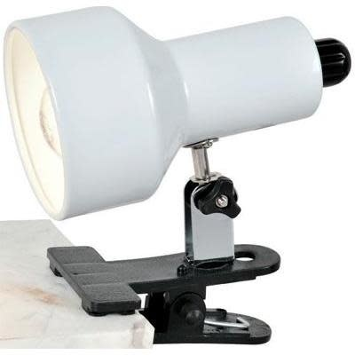 Lite Source Desk Lamp Clip On I I In White