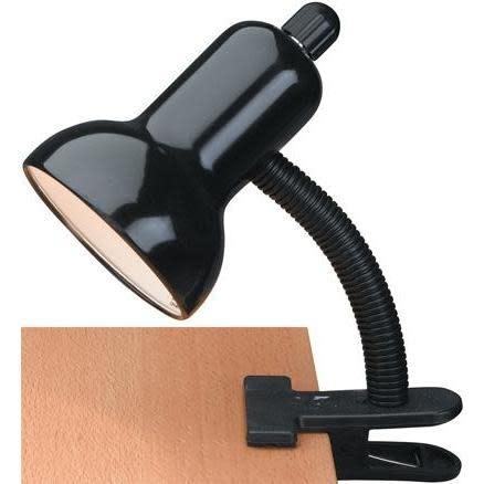 Lite Source Desk Lamp Clip On In Black