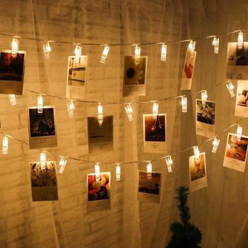Perfect Co String Light - 20 LED Clips, Warm White
