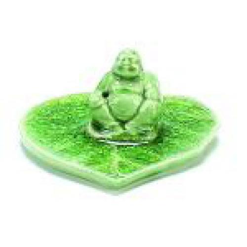 Benjamin International Incense Burner Ceramic Buddha